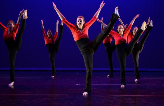 Cambridge Dance Company performing Totally Jazzed
